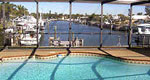 waterfront pool home florida